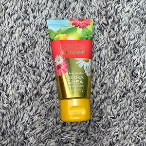 new love & sunshine body cream